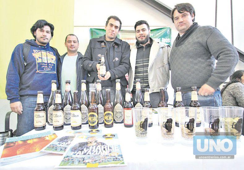 Motivados. Cerveceros artesanales formarán una cooperativa.  Foto UNO/Juan Ignacio Pereira