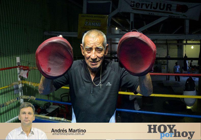 ¡Al fin un mimo! a un luchador nato de Paraná