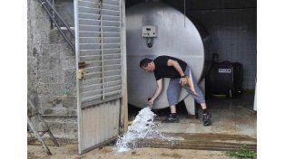 Se levantó el paro nacional lechero