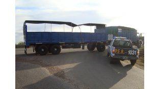 Detuvieron en Ceibas a un pirata del asfalto con un camión robado en Buenos Aires