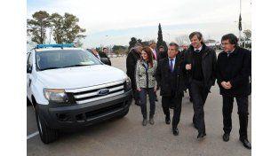 Nación envió 59 nuevos móviles policiales a Entre Ríos