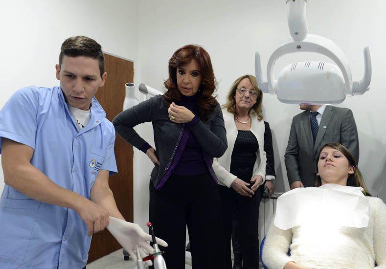 En Santa Cruz, la Presidenta destacó el nivel de inversión de YPF en manos del Estado