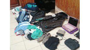 Un supuesto empleado municipal robó en una vivienda en San Benito