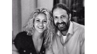 Juan Luis Guerra se llevó un susto en casa de Shakira