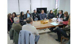 La reunión fue encabezada por la titular del CGE. (Foto: Prensa Agmer)