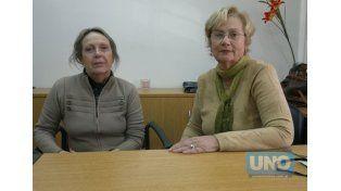 Al frente. Santiago y Bähler señalan que un jubilado no puede tener un descuento que no conozca.