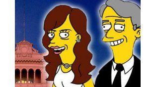 """¿Cristina y Néstor aparecerán en un capítulo de """"Los Simpsons""""?"""
