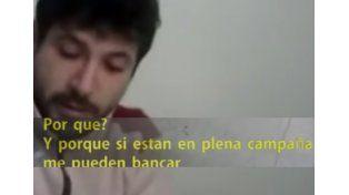 General Campos: la mujer del video asegura que fue amenazada