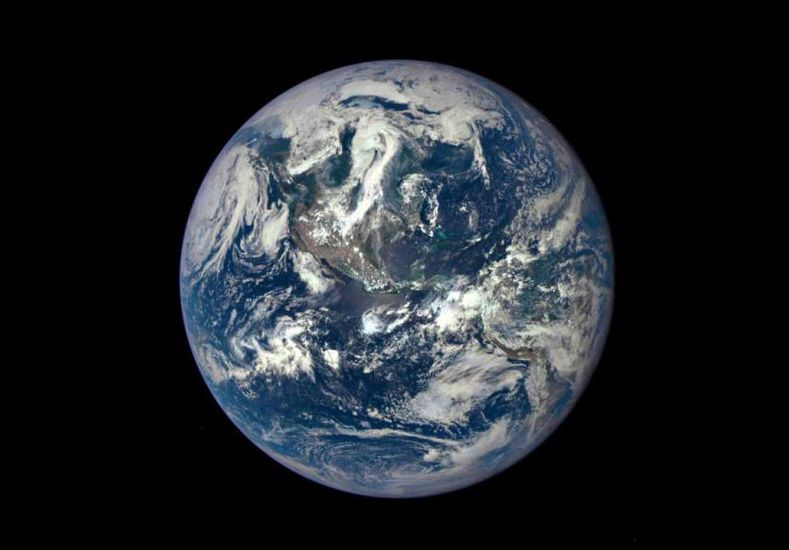 La NASA registró una espectacular fotografía de la Tierra