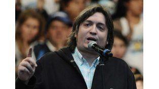 Máximo Kirchner criticó a la hipocresía de Macri