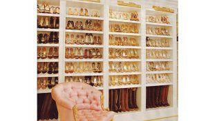 El shoesroom de famosa cantante es la envidia de cualquier tienda