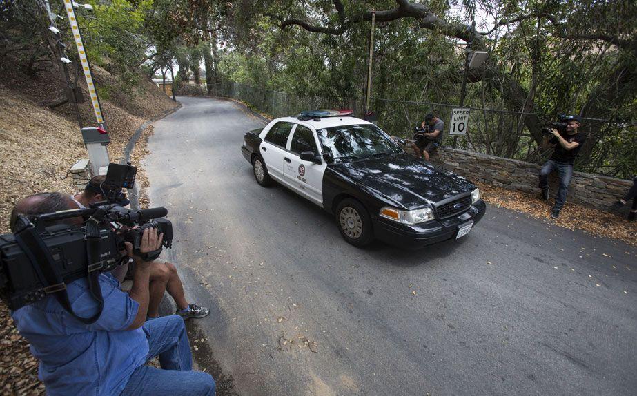La policía abandona la casa de Demi Moore