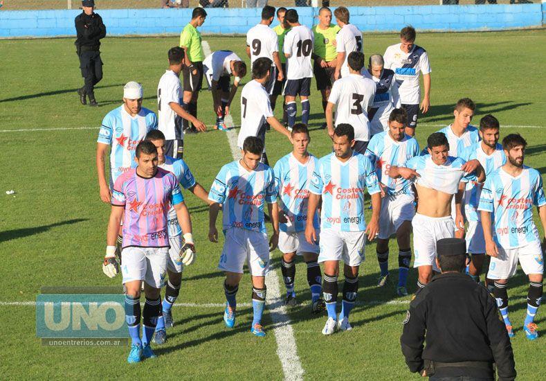 EL equipo de Paraná y un mal presente en el certamen nacional. Foto UNO/Juan Ignacio Pereira