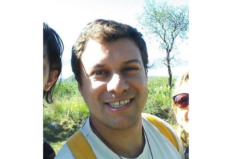 Daniel Martínez es profesor de Ciencia Sagrada y fue uno de los anfitriones que recibió al grupo de jóvenes franceses.