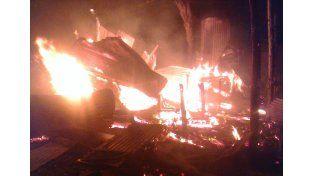La explosión de una garrafa destruyó una comisaria de Victoria