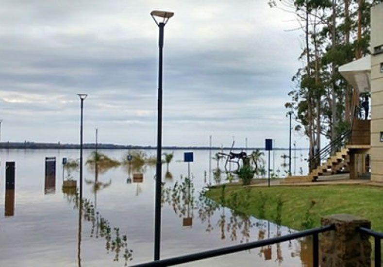 Este domingo el río estuvo estacionario en los 9