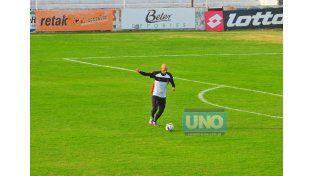 Carlos Quintana en acción