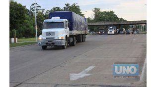Este viernes habrá restricción vehicular de camiones en rutas entrerrianas