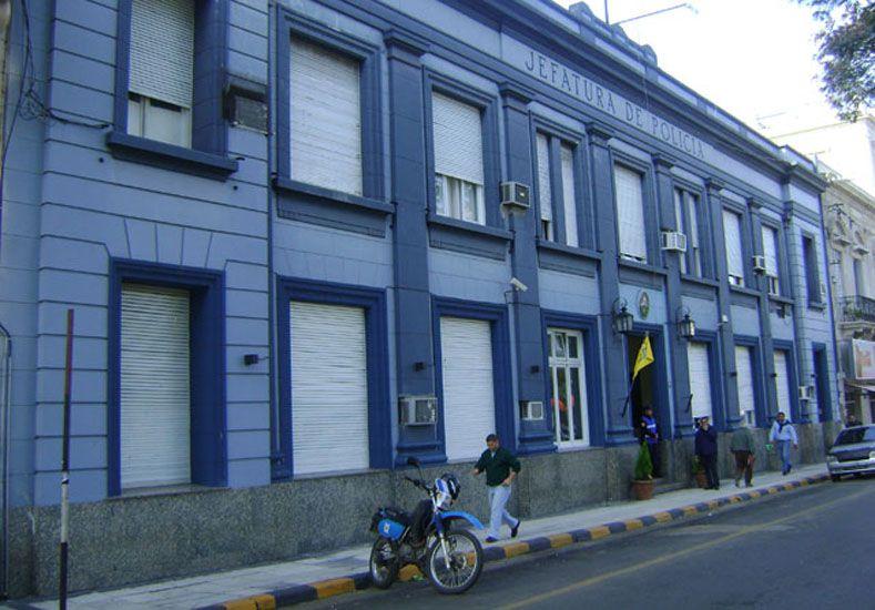 Policía Departamental de Concordia. Foto Internet