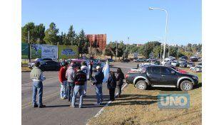 Reclamo. Durante las últimas semanas se intensificaron las medidas de protesta del campo.  Foto UNO/Diego Arias