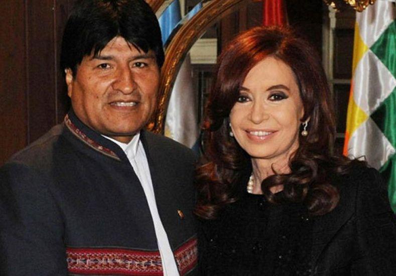 Cristina y Evo inauguran el monumento a Juana Azurduy