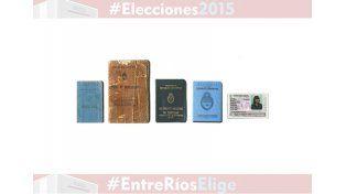 ¿Con qué documento se puede votar en estas elecciones?