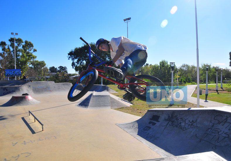 El crecimiento del BMX impulsó la construcción de un Dirt Park