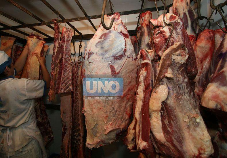 El paro ya afecta la actividad en frigoríficos. Foto Archivo UNO/Ilustrativa
