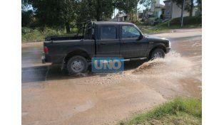 Se reestableció el suministro de agua en la zona este de Paraná