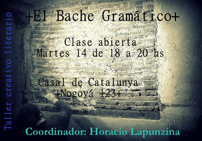 Inicia el taller de escritura El Bache Gramático