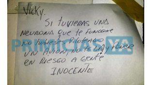 Siguen las malas para Vicky Xipolitakis: sus vecinos de Lanús la repudiaron
