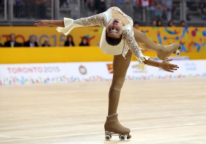 Juegos Panamericanos: La patinadora Giselle Soler le dio la primera medalla de oro a Argentina