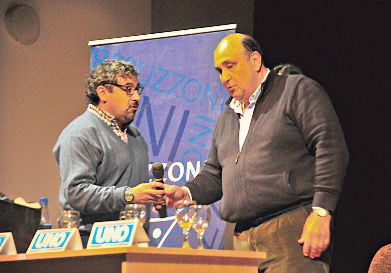"""Tintín"" Vizintín pasó por La Vieja Usina"