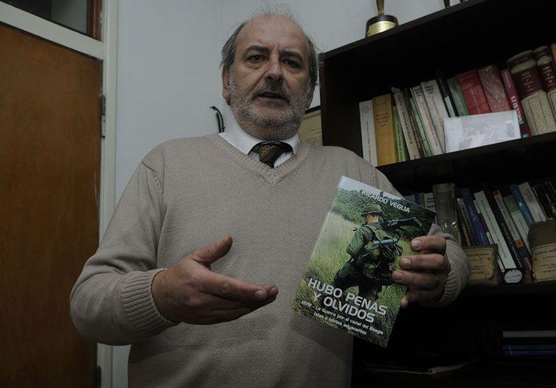 De película. Veglia contó que Spielberg usó tanques argentinos. (Foto UNO/Santa Fe)