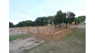 En obra. El comedor de Paraná estará listo a fin de año o en los primeros meses de 2016.