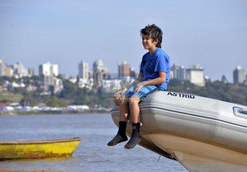 El Sup pasó por Paraná y dejó algunas historias para contar