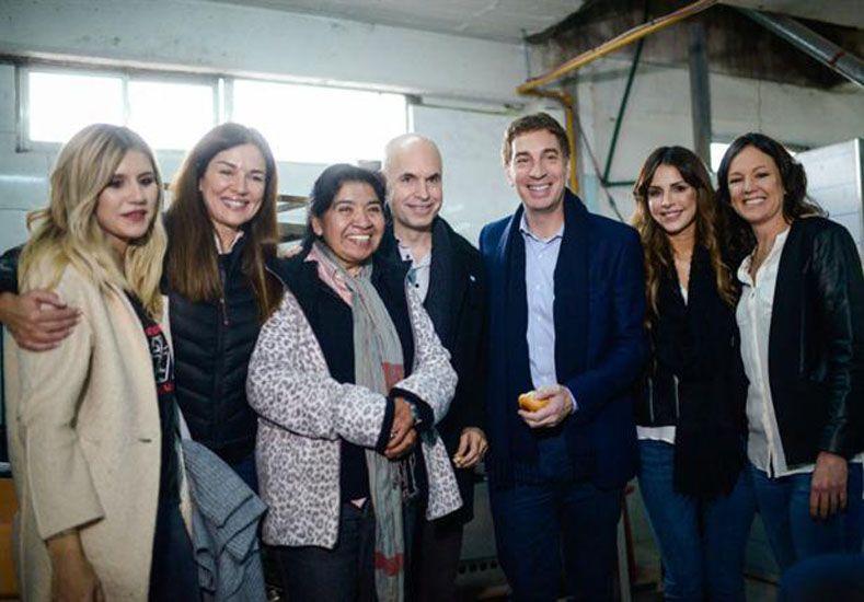 Las hijas de Tinelli hacen campaña por un candidato porteño