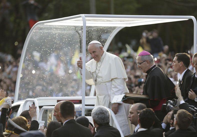 El papa Francisco está en Paraguay