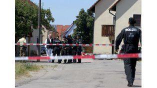 El atacante abrió fuego contra varias personas y mató a dos.   Foto: DPA