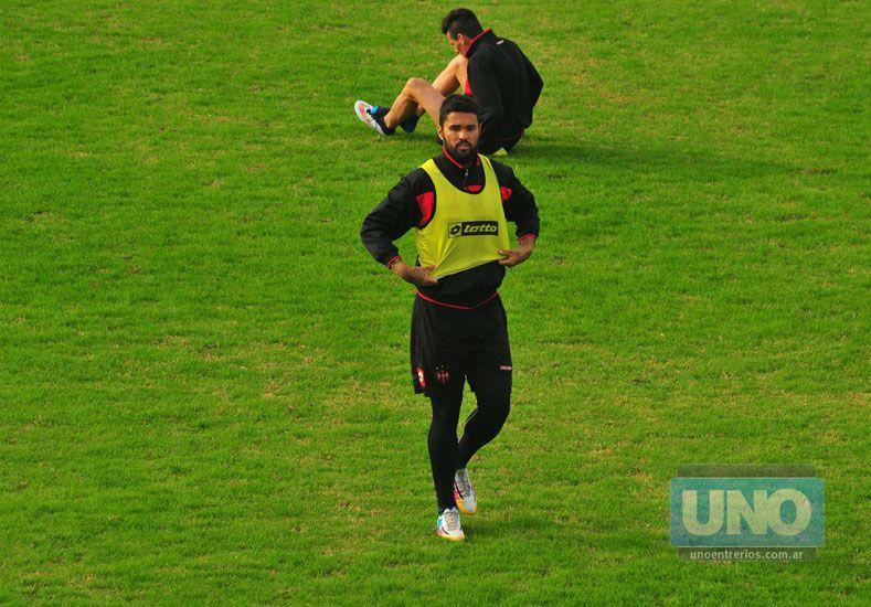 El Uru registró apenas 159 minutos con la camiseta de Patronato y marcó dos goles. Foto UNO/Juan Manuel Hernández