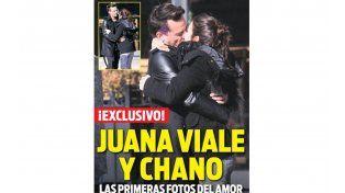 """La primera imagen de Juanita Viale y """"Chano"""" Charpentier a los besos"""