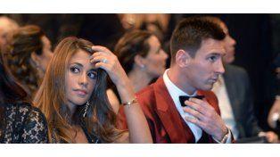 La esposa de Lionel Messi, Antonella Roccuzzo, fue dada de alta