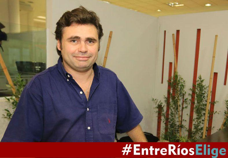 Martín Gabioud pidió reglas claras en el pegado de boletas