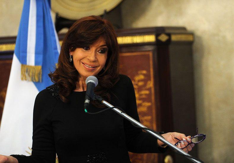 Cristina: Quiero una mujer en la conducción de las Fuerzas Armadas