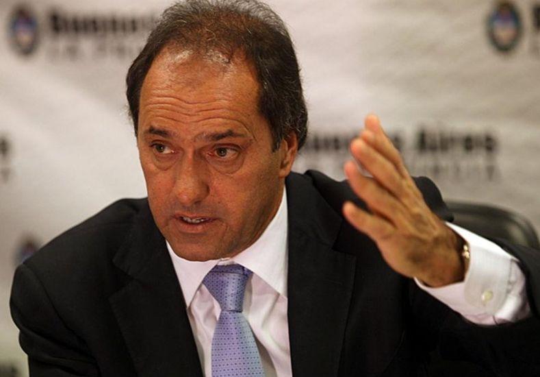 Scioli: Las políticas del FMI han hecho estragos en Grecia