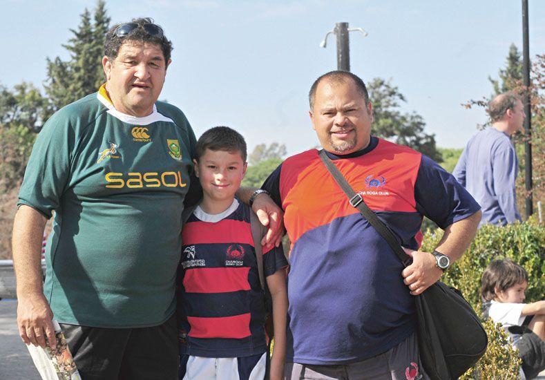 Fiesta del rugby en El Plumazo
