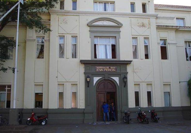 Hospital de Niños Eva Perón de Catamarca. Foto: Internet