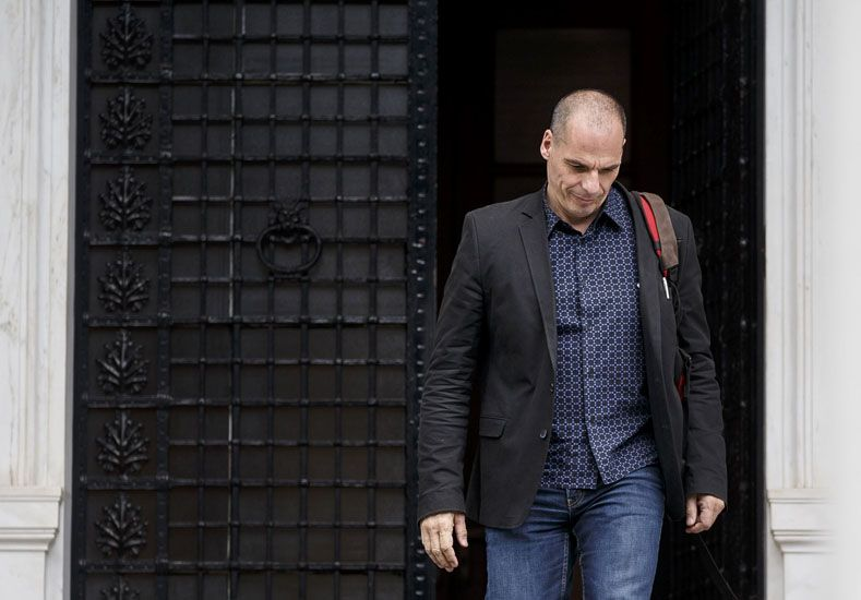 Yanis Varufakis. Foto: AP