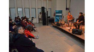 Gira. Se presentaron en marco del Programa Nacional Estaciones Culturales.