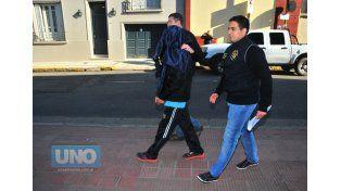 Complicado. Berón estaría muy comprometido con el crimen  Foto UNO/Juan Manuel Hernández